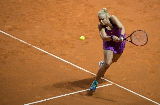 Freud und Leid bei den Tennisfrauen