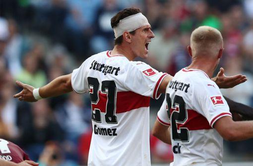 VfB verliert trotz leidenschaftlich kämpfendem Mario Gomez