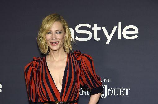 Cate Blanchett beweist bösen Humor