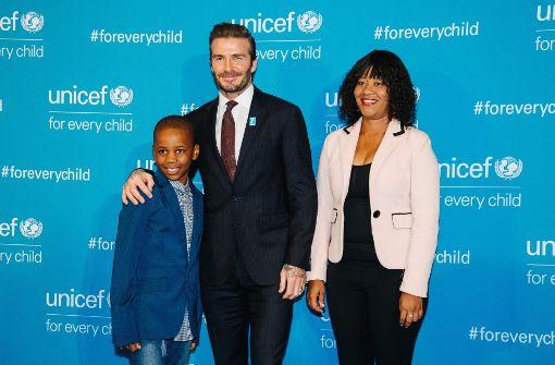 David Beckham, Orlando Bloom und Co. bei Unicef-Gala