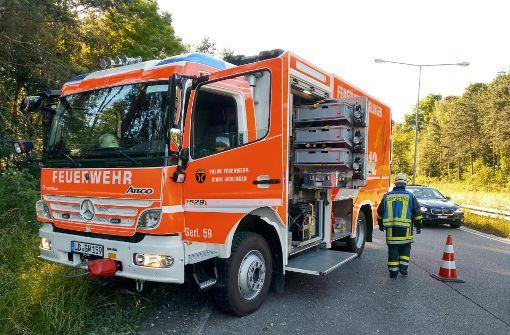 Zur Unfallursache kann die Polizei noch nichts sagen. Foto: 7aktuell.de/Oskar Eyb