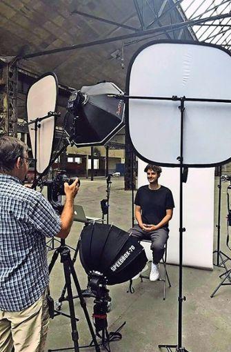 "Foto-Shooting für die ""Stuttgarter Charakterköpfe"". Foto: ubo"