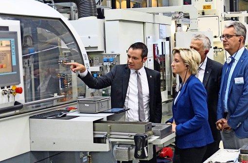 Frau Ministerin und die Industrie 4.0