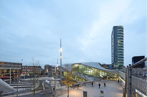 Van Berkels Arnhem Centraal Station. Foto: UNStudio/Frank Hanswijk
