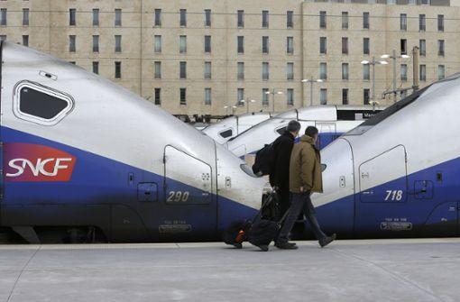 Mehr als die Hälfte der TGV-Verbindungen fällt aus