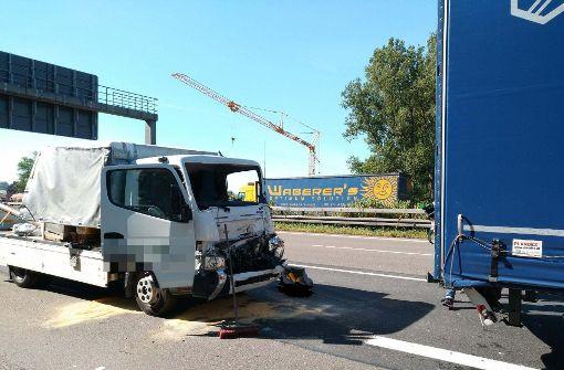 Am Montagmorgen ist es zu einem Unfall auf der A8 gekommen. Foto: 7aktuell.de/Oskar Eyb
