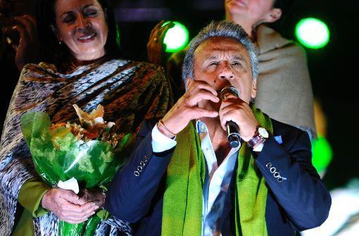 Linkskandidat Moreno gewinnt hauchdünn
