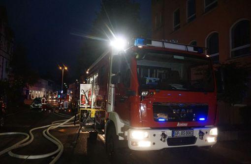 Eine gute Stunde später erklärt die Feuerwehr den Brand für gelöscht.  Foto: SDMG