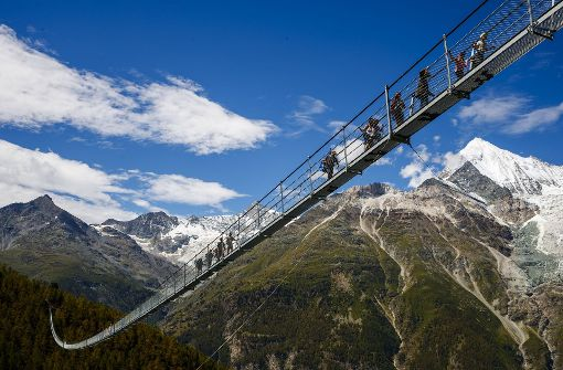 Längste Hängebrücke der Welt