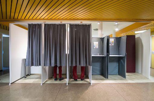 Bundestagswahl hat am Morgen begonnen