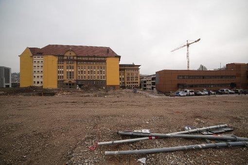 Die Baustelle am Hauptbahnhof (Januar 2013) Foto: www.7aktuell.de | Florian Gerlach