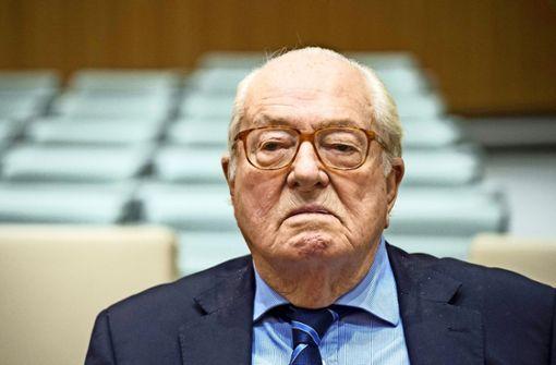 Jean-Marie Le Pen zu Geldstrafe verurteilt