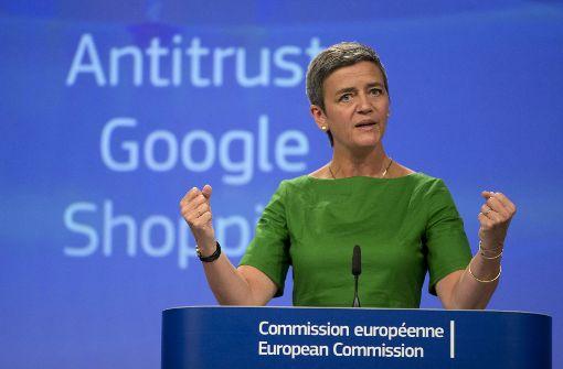 Rekord-Kartellstrafe für Google wegen Shopping-Suche