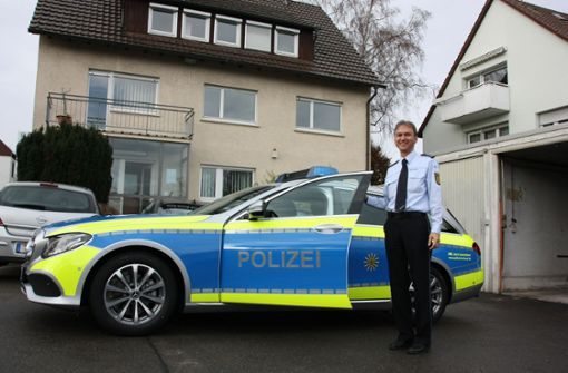 Die Polizei zieht nach Echterdingen