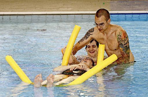 Die Inklusionsschwimmer vom  Campusbad