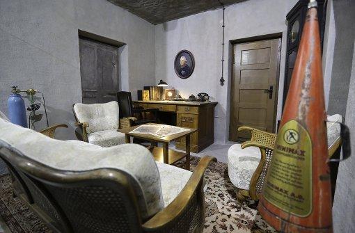 aufreger oder aufkl rung bunkermuseum zeigt hitlers wohnzimmer panorama stuttgarter. Black Bedroom Furniture Sets. Home Design Ideas