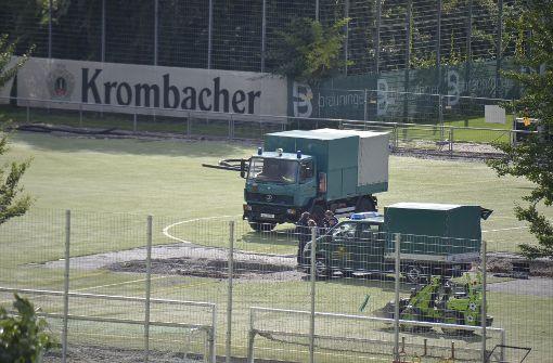 Fliegerbombe auf Trainingsgelände gefunden