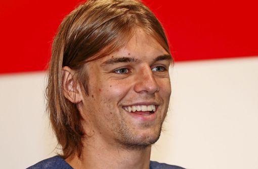 Fiebert mit seinen Landsleuten bei der WM: VfB-Neuzugang Borna Sosa Foto: Baumann