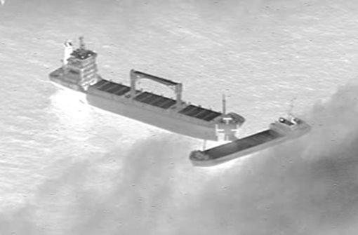 Zwei Schiffe kollidieren vor Borkum und treiben auf See