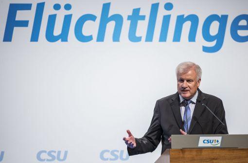 Horst Seehofer hat sich wieder mit einem  Paukenschlag gemeldet Foto: dpa