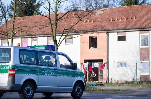 Ein mutmaßlicher Islamist soll in diesem Flüchtlingsheim in Recklinghausen gelebt haben. Foto: dpa