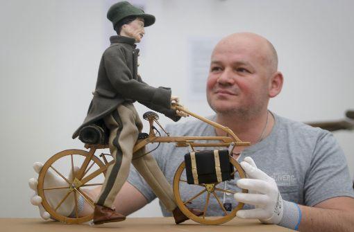 Die Geschichte des Fahrrads zum Mitmachen
