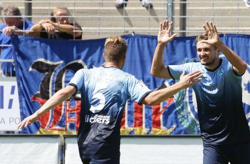 Liveticker: Die Kickers haben Waldhof zu Gast