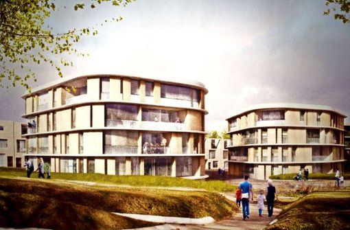 """Fünf solcher """" Wolkenhäuser"""" sind  im neuen Wohngebiet Rote Wand geplant. Foto: Lichtgut/Max Kovalenko"""