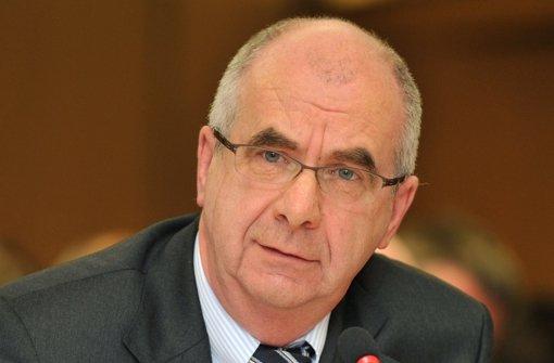 Ex-Polizeipräsident Stumpf ist seit Mittwoch vorbestraft Foto: dpa