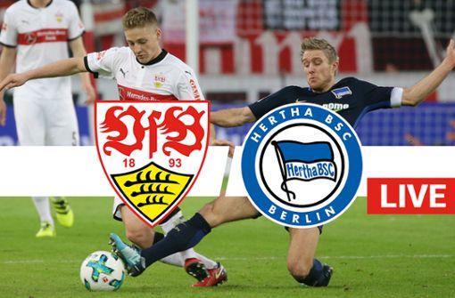 Der VfB Stuttgart empfängt Hertha BSC Berlin