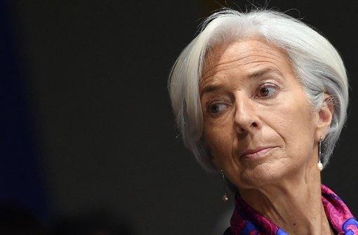Lagarde sichert neues Hilfspaket zu