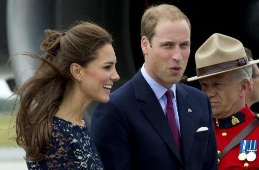 Kate und William begeistern Kanada