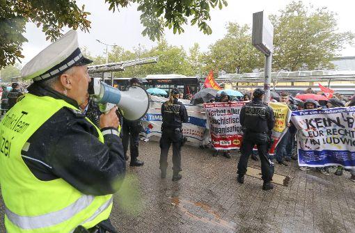 Die Polizei setzt Anti-Konflikt-Teams ein. Foto: factum/Granville