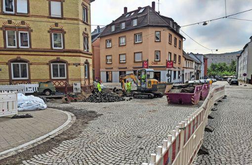 Die Umgestaltung des Bessarabienplatzes hat begonnen
