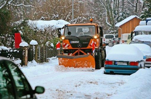 Wege voller Schnee können teuer werden