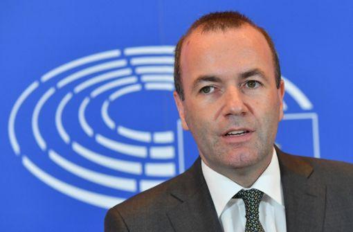 Manfred Weber hat sich als Präsident der EU-Kommission beworben. Foto: AFP