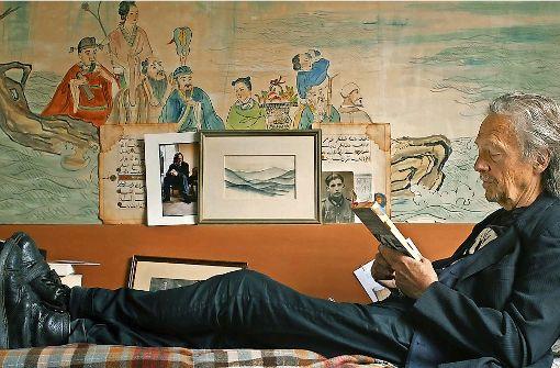 """In Peter Handkes Welt: Szene aus dem Filmporträt """"Bin im Wald, kann sein, dass ich mich verspäte..."""" Foto: Verleih"""
