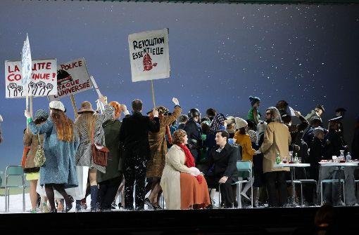"Generalprobe der Oper ""La Bohème"" im Festspielhaus"