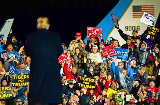 Für Trump steht viel auf dem Spiel
