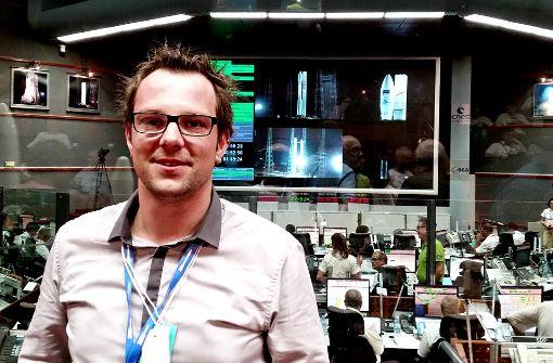 Ein Fellbacher im Weltraumbahnhof Kourou