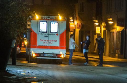 Mehrere Verletzte mit Schnittwunden