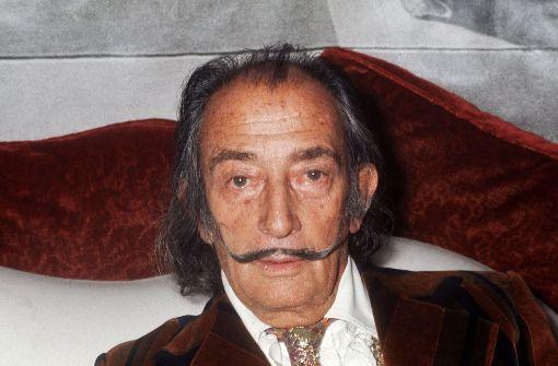 Vaterschaftsklage: Maler Dalí wird aus dem Grab geholt