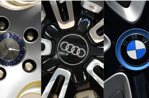 Deutsche Autohersteller nicht mehr Spitzenreiter