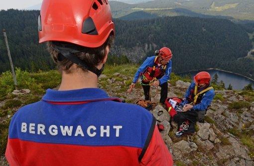 Die Bergwacht musste einer eingeklemmten Frau zu Hilfe kommen (Symbolbild) Foto: dpa