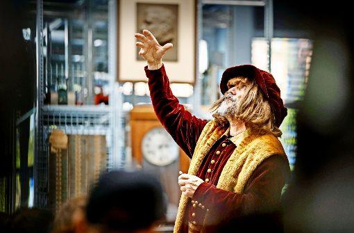 Leonardo da Vinci als Stargast