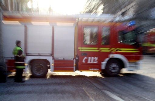 Mit 35 Mann musste die Feuerwehr im vergangenen Dezember anrücken, um einen brennenden Lastwagen zu löschen (Symbolbild) Foto: dpa
