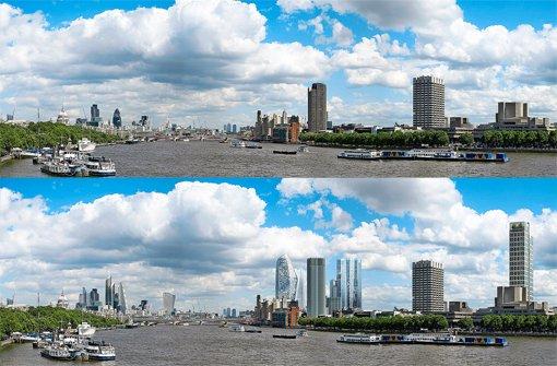 Wie London aussieht ... und bald aussehen könnte. Foto: HayesDavidson