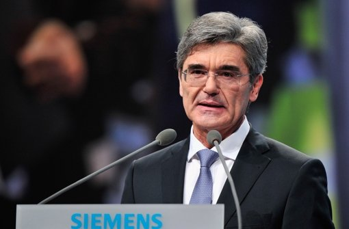 Starker Euro bremst Siemens