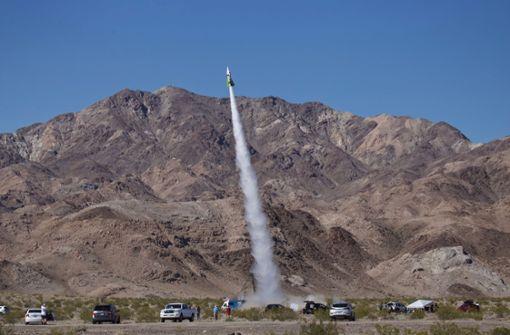 US-Amerikaner schießt sich einen halben Kilometer in die Luft
