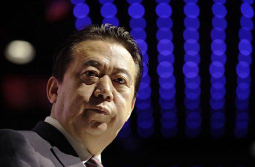 Verschwundener Interpol-Präsident Hongwei zurückgetreten